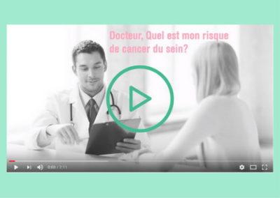 Vidéo de présentation – solution MammoRisk