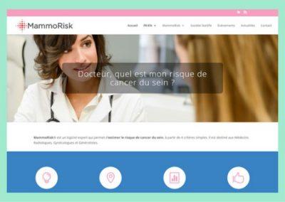 Site internet MammoRisk