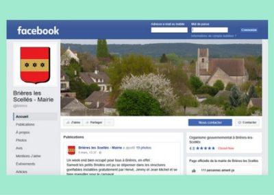 Page Facebook de Brières
