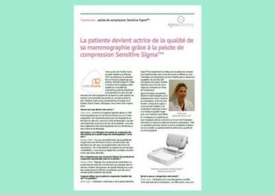 Témoignage Institut Curie – Sigmascreening